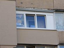 Фото после наружного утепления балкона