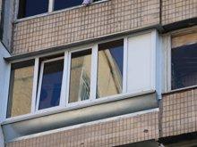 Фото после остекления балкона 96 серия