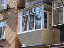Ремонт балкона под ключ фото