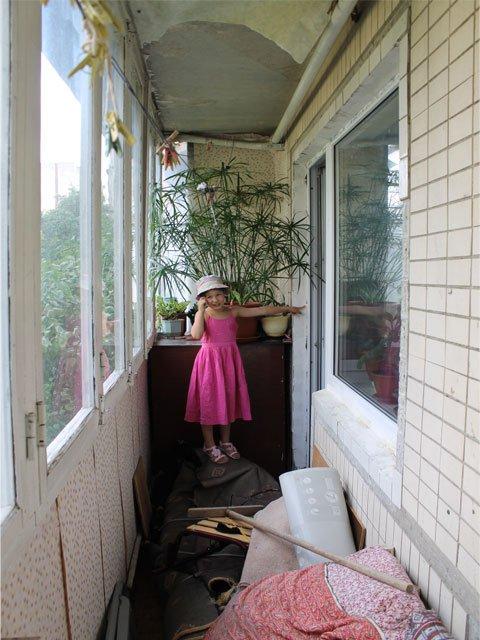 Ремонт балкона под ключ в киеве на оболоне.