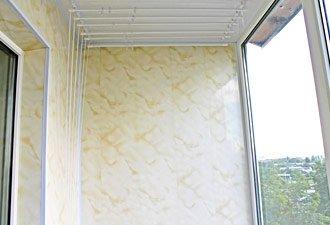 внутренняя обшивка балкона пластиком