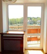 Балконный блок в спальню