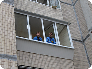 Балконы под ключ от СК Комфорт