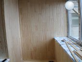Обшивка задней и боковой стенок вагонкой