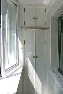 Шкаф на балкон. изготовление под заказ в ск комфорт киев.