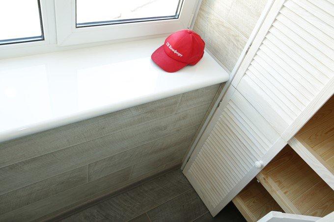 Обшивка балкона ламинатом. цена отделки 200 грн киев, отзывы.