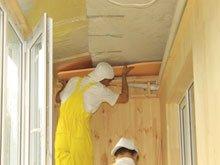 Внутренняя обшивка потолка