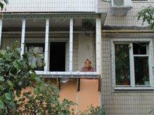 Наружная обшивка балкона в Киеве