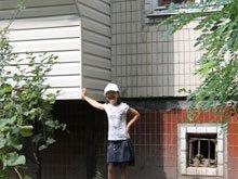Полная наружная обшивка балкона