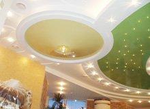 Ремонт потолка на Позняках фото СК Комфорт