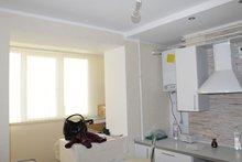 Ремонт кухни с установкой мебели