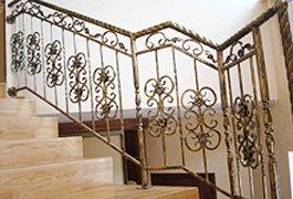 Кованые перила для лестниц, балконов