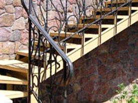 Перила для внутренних, наружных лестниц