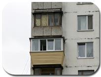 Вынос балкона и лоджии по подоконнику