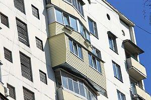 Балкон в серии дома БПС-6