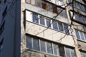 ремонт балкона под ключ в серии дома гостинка