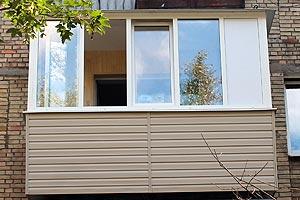 ремонта балкона под ключ в сталинке