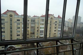 Вынос балкона по подоконнику на 300 мм