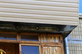 вынос балкона на 30 см с обшивкой