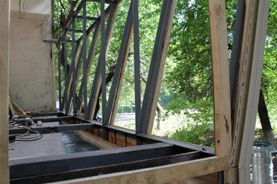 максимальное расширение балкона по полу