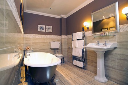 ремонт ванной комнаты в Броварах,фото СК Комфорт Киев