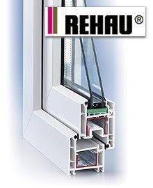 Металлопластиковые окна (пластиковые окна), двери и балконы REHAU