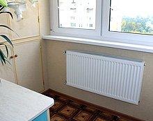 Встроенная мебель на совмещенный балкон