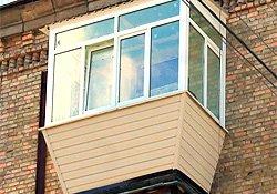 балкон в сталинке с крышей