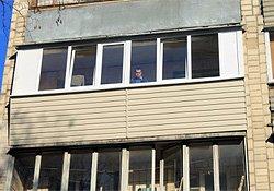 ремонт балкона гостинка