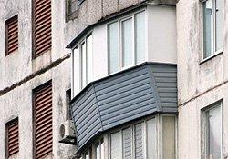 ремонт балкона в серии дома БПС-6