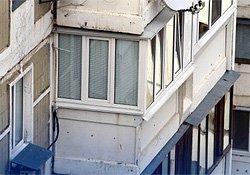 ремонт балкона в серии дома АППС