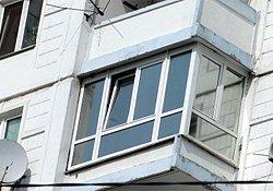 балкон под ключ в серии дома АППС-люкс