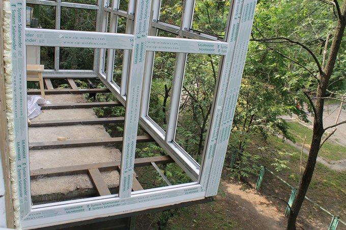 Вынос балкона фото ск комфорт